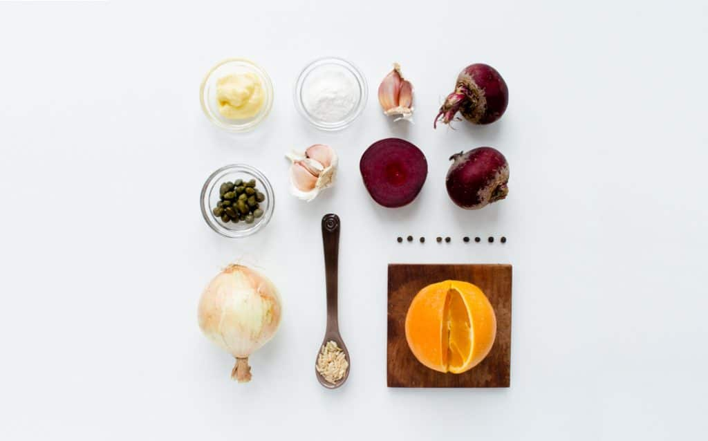 Beet Burger Ingredients