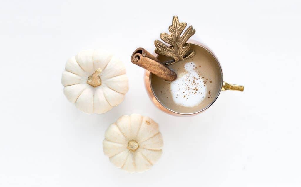 Dairy Free Pumpkin Spice Latte