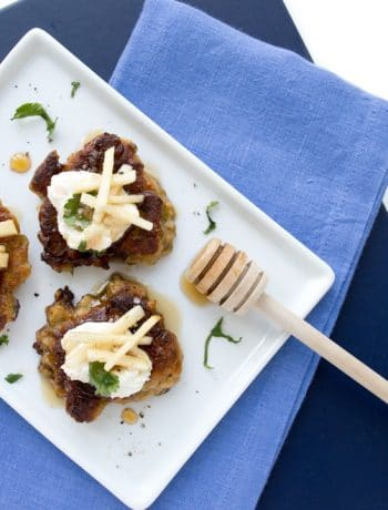 Smoked Eggplant Fritters