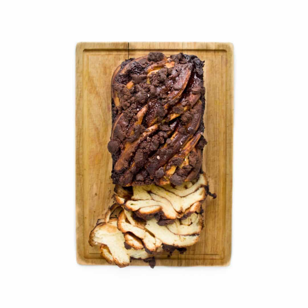 Homemade Holiday Food Gifts - Chocolate Babka