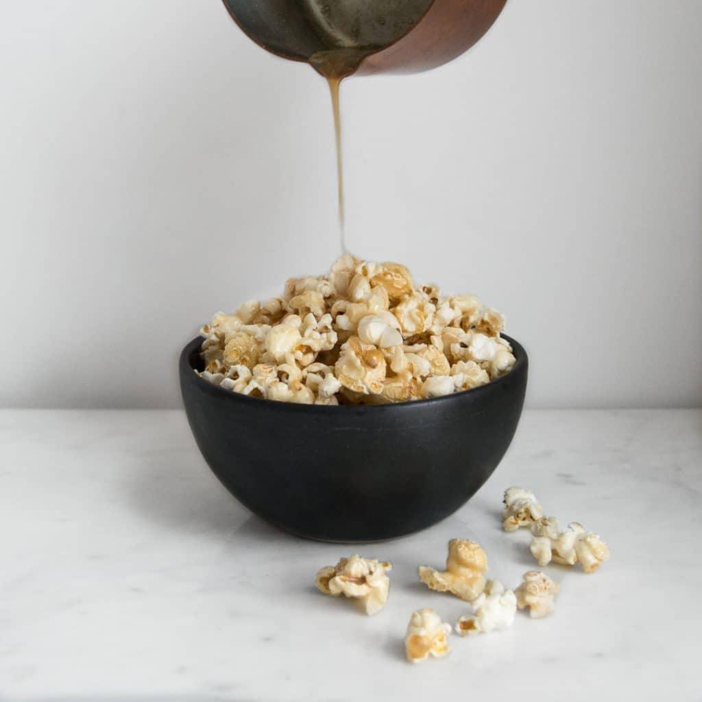 Maple Popcorn Pour