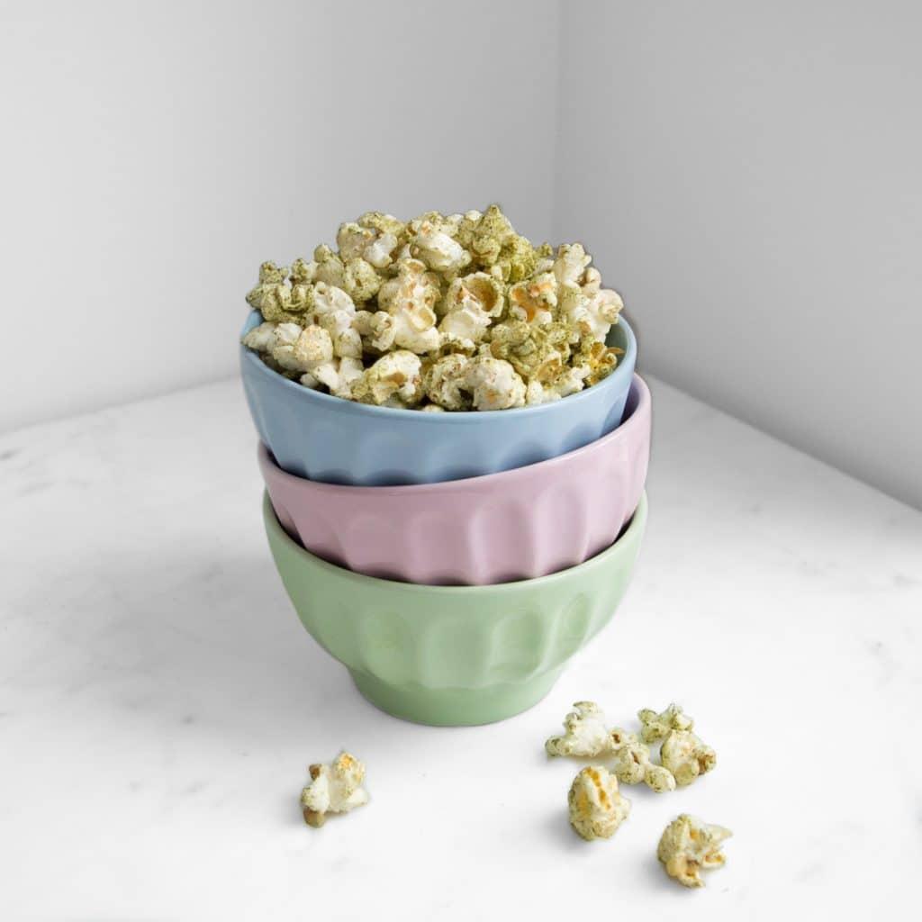 Matcha Popcorn All