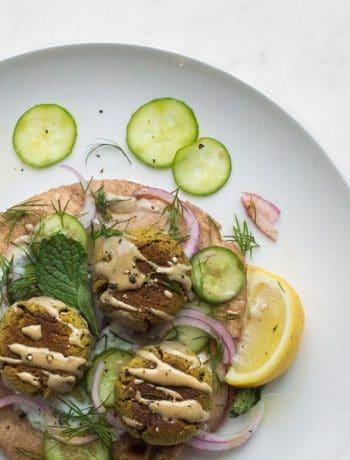 pistachio falafel chef sous chef