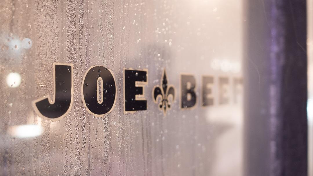 Montréal Travel Guide Joe Beef
