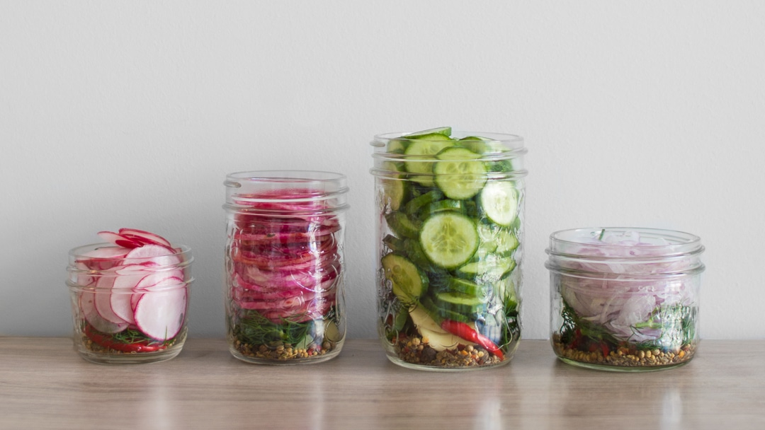 Quick Pickle Veggies