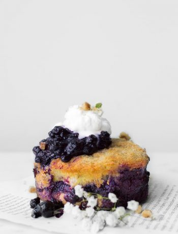 Blueberry French Toast Cake