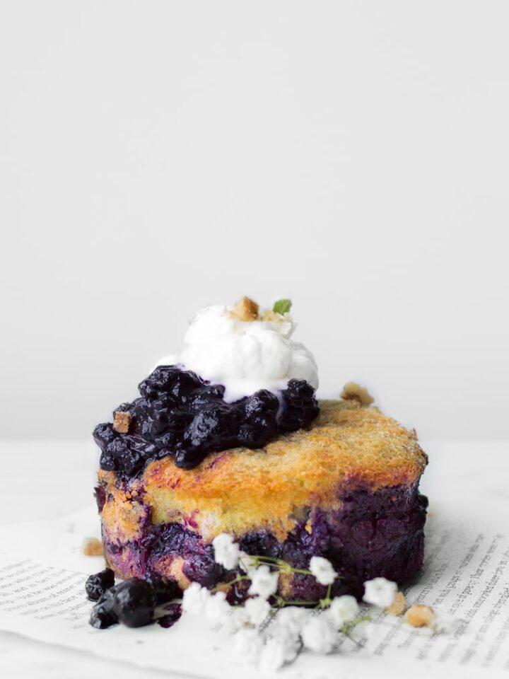 Blueberry French Toast Cake
