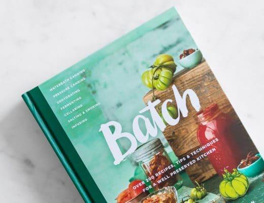 Batch Cookbook on marble