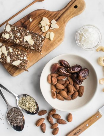 Nuts, seeds, and breakfast bars