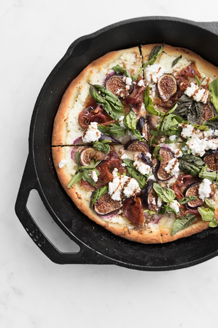 Fig Prosciutto Pizza With Warm Balsamic Glaze Chef Sous Chef